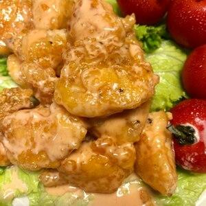 安くて簡単☆鶏むね肉で鶏マヨ