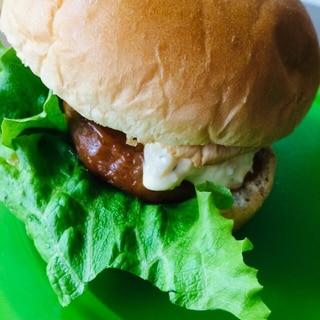 レタスたっぷりハンバーガー
