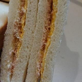 ツナとたまごのサンドイッチ★