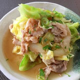 青森の味☆スタミナ源たれで春キャベツの野菜炒め