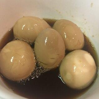 夏のさっぱり味玉(ぽん酢4白だし1)