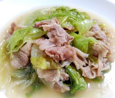 レタス消費☆牛肉とレタスの中華蒸し
