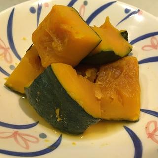レンジでチンで簡単!かぼちゃの煮付け ♪