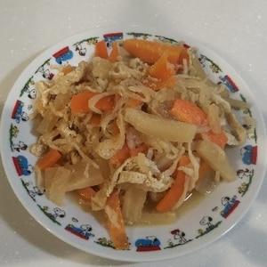 粉豆腐入りで栄養UP!簡単切り干し大根