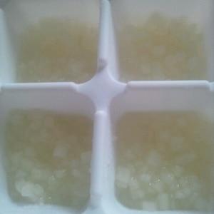 <離乳食>だいこん冷凍保存