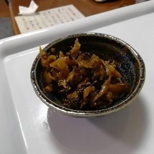 ご飯すすむ♪高菜のピリ辛油炒め