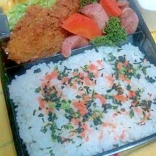 作り置きしているおかずから◆簡単お弁当◆