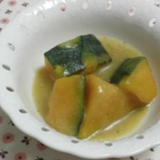 カボチャのポタージュスープ煮