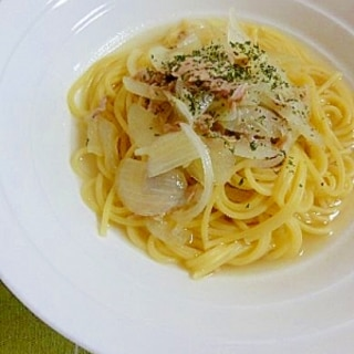 スープも美味しい☆簡単ツナスープパスタ