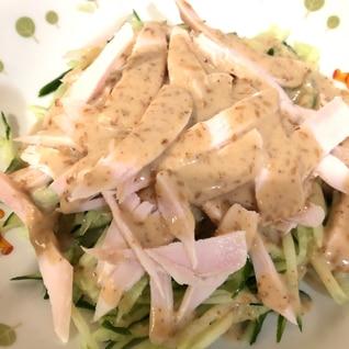 【簡単・スピード】サラダチキンの棒棒鶏