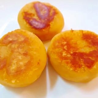 きな粉の薩摩芋餅