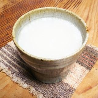 米麹でつくる保温水筒で自家製甘酒