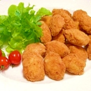 鶏胸肉と豆腐のナゲット