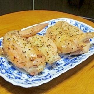 【つけ込み不要!】オーブンで簡単♪手羽先の旨塩焼き