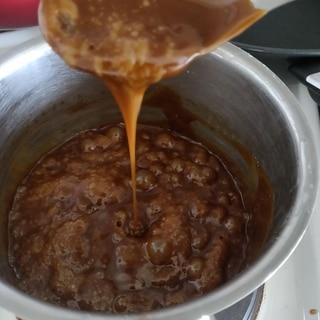 ヴィーガン 塩キャラメルソース
