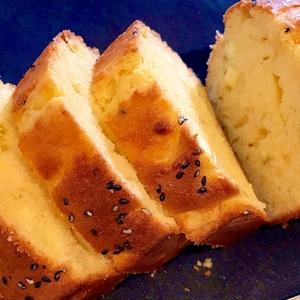 HMで簡単★優しいお味★さつまいものパウンドケーキ