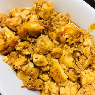 鶏ささみで作るヘルシー麻婆豆腐