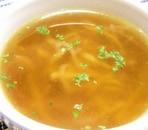 切干大根のしゃきしゃきコンソメスープ