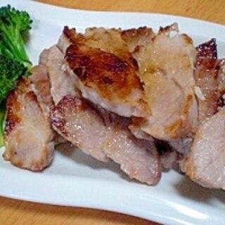塩麹で! 「豚肉ブロックの塩麹焼き」  ♪♪