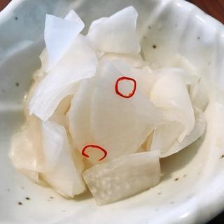大根のかぼす漬け