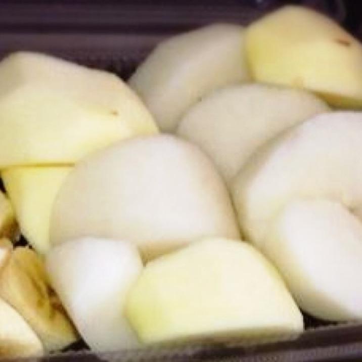 りんごと梨の冷蔵庫保存の方法♬