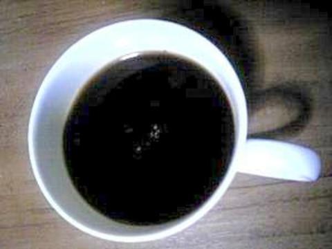 目覚めすっきり ピリッとコーヒー