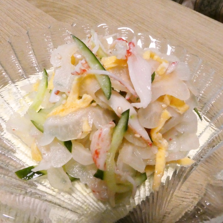 白ゴーヤの中華風サラダ