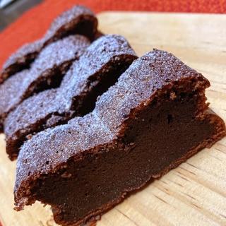 ボウルひとつで混ぜるだけ超簡単 濃厚生チョコケーキ