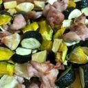 鶏肉と野菜のぎゅうぎゅう焼き