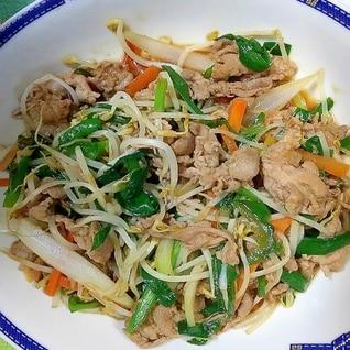 野菜炒め 中華風