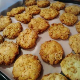 ザクザク★コーンフレーククッキー