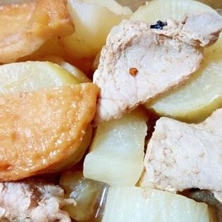 豚肉と平天と大根の煮物