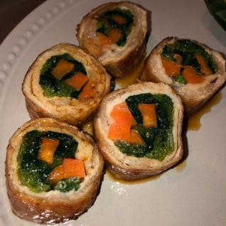 お弁当にも!晩御飯にも!野菜の豚肉巻き