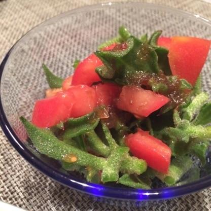 トマトとの組み合わせ、美味しい(o´∀`o)はまりそうです。最近道の駅でアイスプラント買うのにハマってるので、リピします!