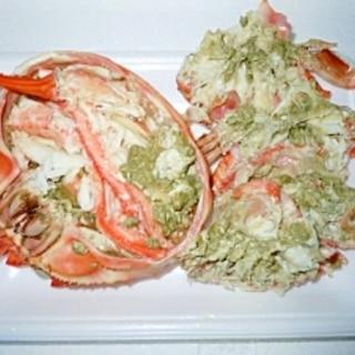 紅ずわいがに 蒸し蟹