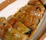 豚肉の大葉豆腐ロール