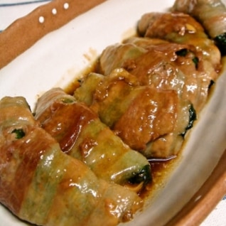 豚肉の大葉豆腐ロール♪激ウマ必至!