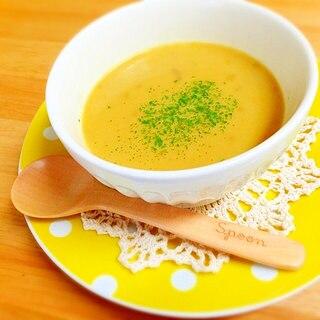 カレーの残りで一品♪リメイク☆まろやかカレースープ