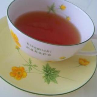 柚子ダージリンティー♪柚子ジャム柚子蜂蜜で柚子紅茶