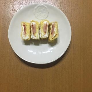 卵焼きinベーコン