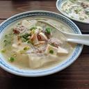 包まないワンタン風スープ