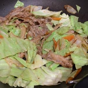 簡単!(^^)豚肉の竜田揚げマヨ醤油炒め♪