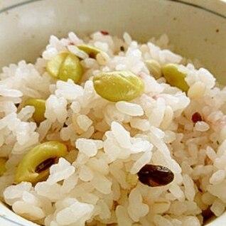十八雑穀の豆ご飯 ほんのり塩麹♪