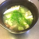 エリンギとキャベツの麦味噌汁★