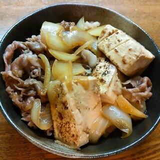 オリーブ牛の肉豆腐