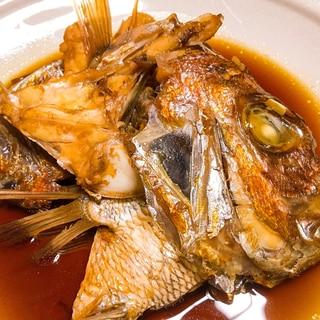 居酒屋の味‼  鯛のあら煮