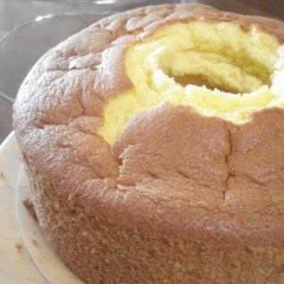 とっても簡単失敗なしのオレンジシフォンケーキ