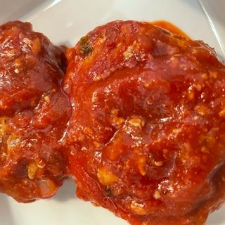 トマト煮込みハンバーグ❤️❤️❤️