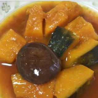 かぼちゃと椎茸の煮物☆