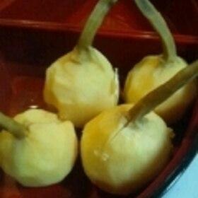 くわいの煮物